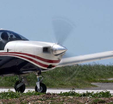 propeller blade separation